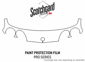 3m Pro Shield Paint Protection Kit For Acura Integra 1998 2001 Bumper Ppf