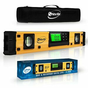 Digital Magnetic Level Tool 18 Inch Torpedo Smart Level And Protractor