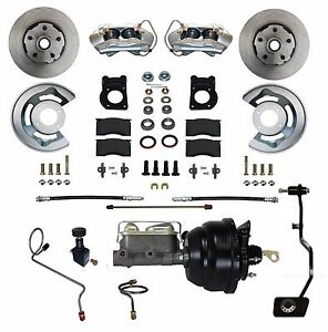 67 68 69 Mustang Cougar Front Disc Brake Conversion Power For Man Trans