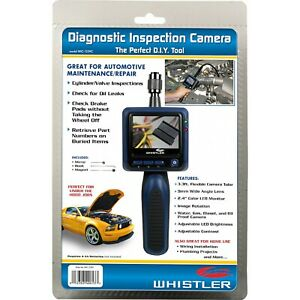 New Whistler Diagnostic Inspection Camera 2 4 Color Lcd Automotive Borescope