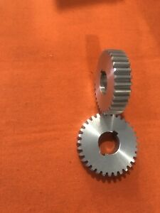 New Production Aluminum Atlas Craftsman 10 12 Lathe 32 Tooth Stud Change Gear