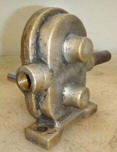 Brass Gear Water Pump For Car Truck Boat Or Hit Miss Old Gas Engine 3 8 Pipe