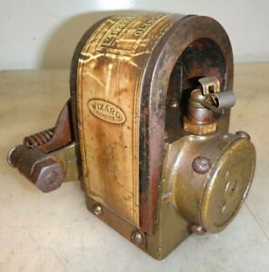 Wizard 2so All Brass Case Magneto Hit And Miss Old Gas Engine No 219825r