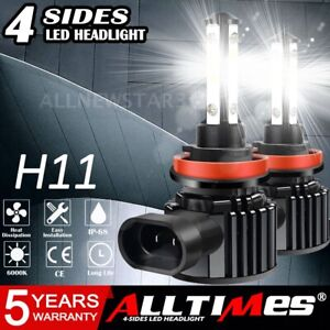 4pcs Mini 9005 9006 240w Combo Led Headlight Bulbs Kit High Low Beam 6000k Usa