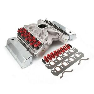 Cylinder Heads Chevy 350 Small Block 190cc Aluminum Top Engine Kit