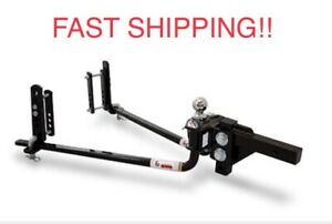 Fastway Trailer 94 00 0800 E2 8 000lb Round Bar Hitch With 2 Point Sway Control