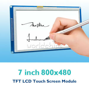 1 2 5pcs 7 Inch 800x480 7 Tft Lcd Touch Module Ssd1963 Pwm For Arduino Avr Arm