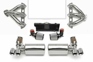 Fabspeed High Performance Exhaust Package For 2006 09 Porsche 997 Turbo 3 6l