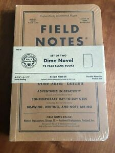 Dime Novel Notepads By Fieldnotes Brand New Sealed