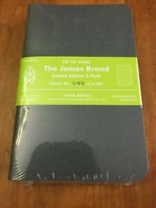 The James Brand Notepads By Fieldnotes Brand New Sealed