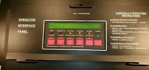 Simplex 4100 8201 Led Annunciator Display Panel 841 731 Fire Alarm