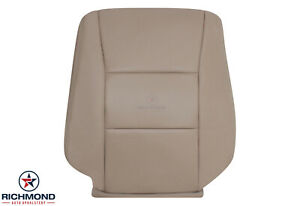 For 1999 2000 Toyota Land Cruiser Driver Side Lean Back Leather Seat Cover Tan