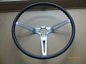 Used 1963 Only Corvette Steering Wheel Correct Machining Marks