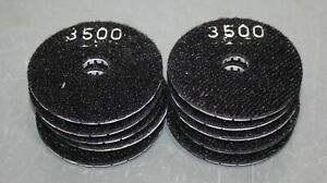 10 Onfloor Stone Polishing Pad 224073 3 Round gray For 17 20 Floor Machine
