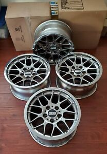 Bmw Vintage Bbs Forged Alloy Wheel Set 4