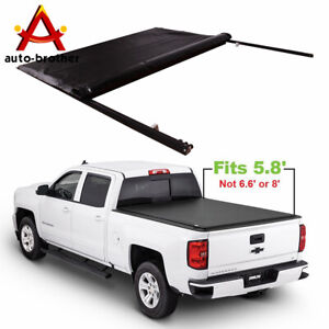 Roll Up Tonneau Cover 5 8 Bed Jdmspeed For Chevy Silverado Gmc Sierra 2007 2013
