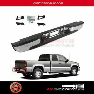 For 1999 2007 Chevy Silverado Gmc Sierra 1500 Rear Bumper 2500 2002 2003