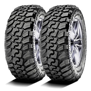 2 New Patriot M t Lt 265 75r16 123 120q E 10 Ply Mud M t Tires