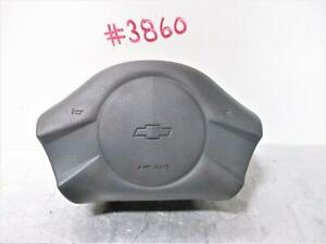 2003 Chevrolet Cavalier Charcoal Steering Wheel Air Bag 03 04 05