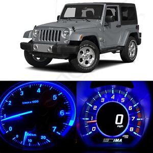 For 1997 2006 Jeep Wrangler 16pcs Instrument Panel Dash Gauge Bulbs Led Set
