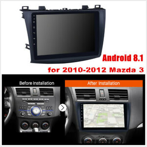 Android 8 1 9 4 Core Wifi Fm Car Radio Multimedia Player For 2010 2012 Mazda 3