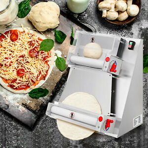 15 7inch Electrical Pastry Press Machine Bread Molder Dough Roller Sheeter