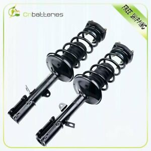 For 1993 02 Toyota Corolla Geo Prizm Rear Quick Complete Struts Springs Assembly