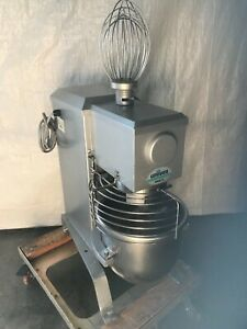 Univex Smr12 12 Quart Commercial Mixer With Whisk And Batter Attachments