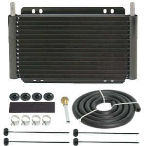 11 Heavy Duty Engine Transmission Oil Cooler Kit Universal Rv Motorhome Towing