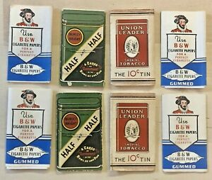 Vintage Lot Cigarette Rolling Papers Tobacco Advertising Union Leader B