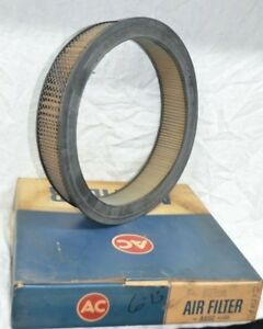 Nos 1959 66 Cadillac Buick Oldsmobile Oem Gm 564342 Ac A85c Air Filter Vintage