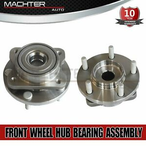 2 Front Wheel Bearing Hubs For 1996 2007 Dodge Caravan Chrysler Town And Country