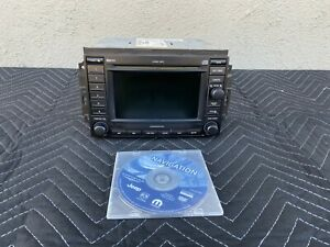 05 07 Jeep Comander 6 Cd Changer Dvd Gps Navigation Stereo Radio Rec P56038646am
