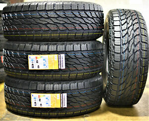 4 New Mazzini Giantsaver A T Lt 265 70r16 Load E 10 Ply At All Terrain Tires