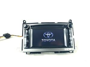 2013 2015 Toyota Venza Stereo Touch Screen Radio 59037 Oem 86140 0t080