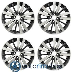 New 16 Replacement Wheels Rims For Honda Fit 2015 2019 Set Machined With Cha