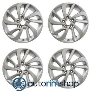 New 17 Replacement Wheels Rims For Hyundai Tucson 2016 2018 Set Silver