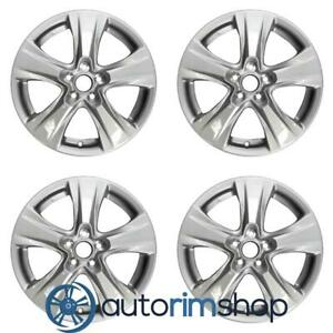 New 17 Replacement Wheels Rims For Toyota Rav4 2019 Set Silver