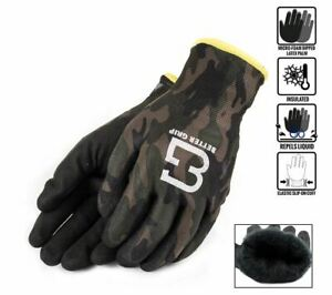 Better Grip Bgwans Safety Winter Insulated Double Lining Rubber Coated Work Glov