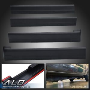 Rocker Panel Protector Guard Cover Trim For Chevrolet Silverado sierra Crew Cab