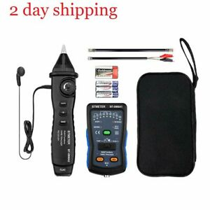 Cable Finder Tone Generator Probe Kit Btmeter Bt 5900a Rj11 Rj45 Wire Tracker