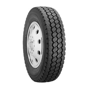 Bridgestone M724f 225 70r19 5 Load F 12 Ply Drive Commercial Tire