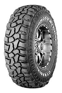 4 Gt Radial Savero Komodo M t Plus Lt 265 75r16 112 109q C 6 Ply Mt Mud Tires