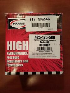 Harris High Performance Pressure Regulator Flow Meter Cylinder 425 200 580