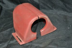 1965 66 Ford Galaxie Monterey Steering Column Support Cover Trim Under Dash Red