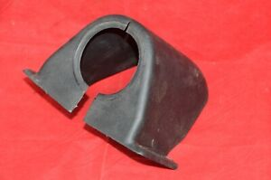 1965 66 Ford Galaxie Steering Column Support Cover Plastic Trim Under Dash Black