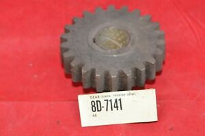 Nos 8d 7141 Ford Trans Reverse Idler Gear 22 Teethtransmission Oem W Bushing