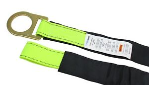 Spidergard Spa Fall Protection Loop And D ring End Concrete Anchor Strap With Pr