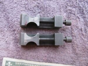 Pair Brown Sharpe 752 Vise Clamps Clamp Machinist Toolmaker Tools Usa