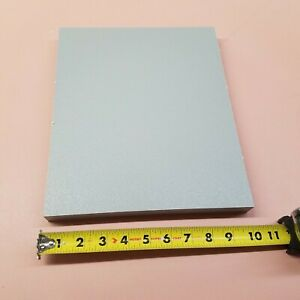 Hdpe Machinable Plastic Sheet 1 X 10 X 12 Gray Textured Both Sides